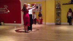 Manhattan ballroom dance lesson students Tango at Arthur Murray