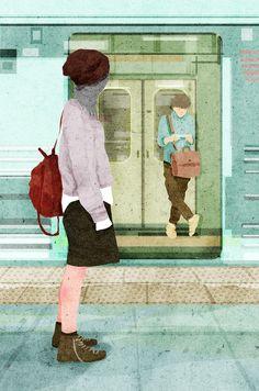Las Ilustraciones de Xuan loc Xuan   La Bici Azul: Blog de decoración, tendencias, DIY, recetas y arte
