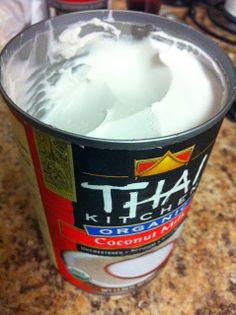 Paleo whipped cream!