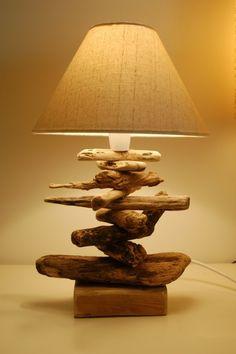 ivoire décoré lampe