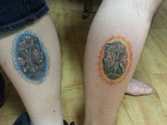 20 Matching Tattoos That Were Meant For Each Other - Dorkly Post
