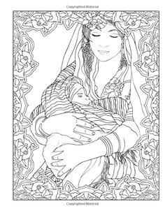 Marty Nobles Peaceful World New York Times Bestselling Artists Adult Coloring