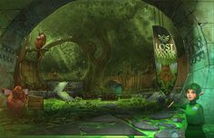 Lost Woods Tavern Final by *medders on deviantART