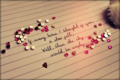 If every time I thought of you... by Tammy--J.deviantart.com on @deviantART