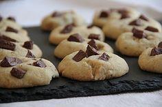 cookies noisettes-chocolat sans gluten