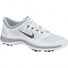 3140e5a50 Incredbly Nike Women s Lunar Empress Golf Shoe - White Dark Grey Pure  Platinum - All About Golf