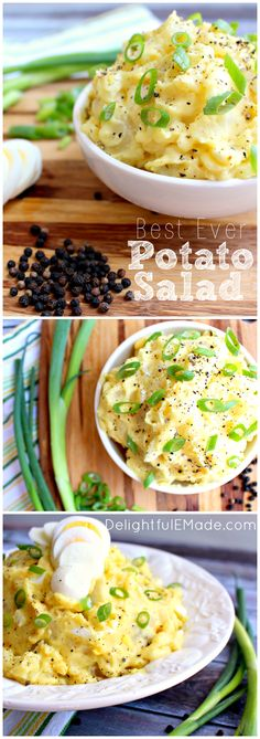 A must-have at any back yard BBQ or cookout!  This potato salad has an amazing dressing, and the only recipe you'll ever need!