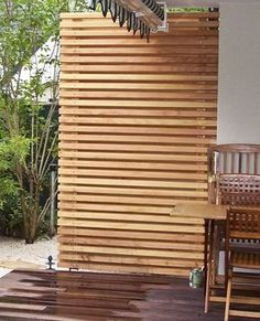 exclaimed Holzbau - Gallery Privacy The Effective Pictures We Offer You About decoration terrasse ja Pergola Garden, Terrace Garden, Diy Pergola, Pergola Kits, Backyard, Outdoor Spaces, Outdoor Living, Outdoor Decor, Balcony Design