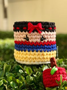 Crochet Bowl, Crochet 101, Crochet Kids Hats, Easy Crochet Patterns, Crochet Patterns Amigurumi, Crochet Yarn, Crochet Mandala, Tapestry Crochet, Crochet Storage