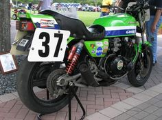 "1981 ""ELR"" Kawasaki KZ1000 based Superbike S1 Racer"