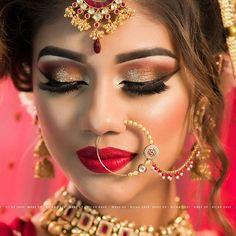 Put on some mascara and live a little. Bride Model at Banswada Seminar Conducted by Jasmine Beauty Care at Banswada. Makeup : @richa_dave Hairstyle : @prarthidave.25 and Urvashi Dave Photography By : @yashgajjarphotography Model : @femibhurawala #makeup #artist #mascara #eyeshadow #eyelashes #lipstick #earrings #eyeliner #highlight #tar #eyebrows #lashes #latest #style #fashion #beautiful #gourgious #jewelry #photography #red #white #dressyourface #dressyourfacelive #indian #modelmakeup ...