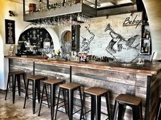 Bebop Paros Bar Cocktails