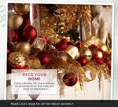 Lisa Robertson's Holiday Décor Picks