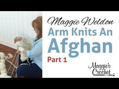 Arm Knitting - Afghan Part 1