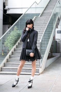 Asian Street Style, Tokyo Street Style, Street Style Summer, Japanese Fashion, Asian Fashion, Fashion Models, Girl Fashion, Female Pose Reference, Socks Outfit