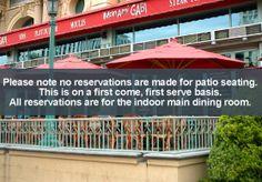 Mon Ami Gabi | Las Vegas | » Home   Outdoor seating overlooks Bellagio Fountains