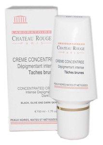 CHATEAU ROUGE CREME CONCENTREE ANTI-TACHES 50ML - Le soin des peaux noires, mates et métissées, visage et corps.