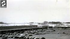 Billings bridge plaza 1962 Capital Of Canada, Strip Mall, Ottawa, Prague, Ontario, Vintage Photos, Hawaii, Street View, Urban