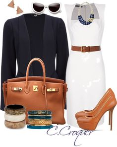 """""""Business Woman"""" by ccroquer ❤ liked on Polyvore"""