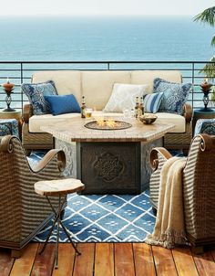 St. Martin captures the heritage of its namesake island, where a carefree tropical vibe mingles with old-world sophistication. Thoughtfully scaled proportions and plush cushions make this seating collection desirable for both outdoor areas and four-season rooms. High-performance resin wicker, with a five-year warranty, is deftly woven over a cast aluminum frame for long-lasting durability and beauty.