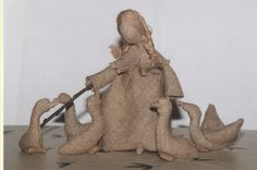 Мобильный LiveInternet Чудесные куклы из мешковины | Февральская_лазурь - Дневник Февральская_лазурь |