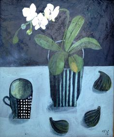 Este MacLeod 'Figs and orchid'
