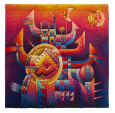 Buy Peruvian tapestries & wall hangings by Maximo Laura. Maximo Laura tapestries are hand woven with Peruvian Alpaca. Price by inquiry. Tapestry Weaving, Tapestry Wall Hanging, Wall Hangings, Peruvian Textiles, Textile Artists, Pictures To Paint, Art Forms, Fiber Art, Charms