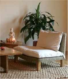 Seagrass Meditation Chair                                                       …