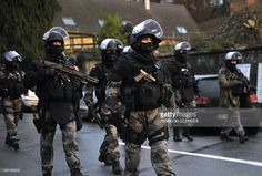 Members of the GIPN and RAID, French police special forces