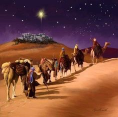 by Marcello Corti ༺Oh, Holy Night༺ Christmas Jesus, Meaning Of Christmas, Christmas Scenes, Christmas Nativity, A Christmas Story, Christmas Pictures, Vintage Christmas, Christmas Cards, Merry Christmas