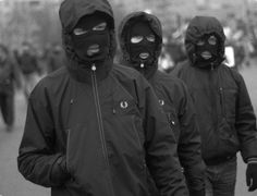 Fred Perry - Hi-jackers Football Casual Clothing, Football Casuals, Badass Aesthetic, Aesthetic Grunge, Fred Perry Jacket, Gangster Girl, Skinhead, Balaclava, Trap