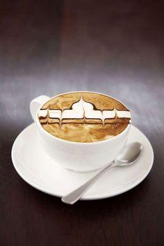 Votre café élevé au niveau d'oeuvre d'art ! #CoffeeLovers