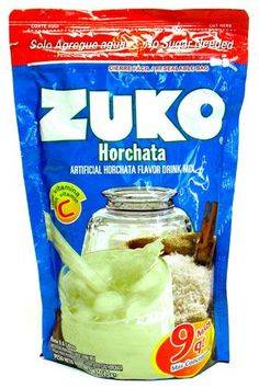 Buy Zuko Horchata Flavor Drink Mix 14.1 oz at MexGrocer.com an online Mexican supermarket for Aguas Frescas. Fruit Drinks, Fruit Juice, Cold Drinks, Beverages, Zuko, Fresco, Horchata, Instant Rice, Snack Recipes