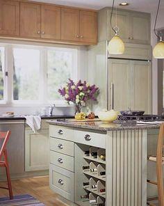 Small Kitchen 7: Warm Palette