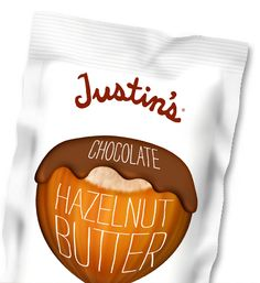 Justin's All Natural Nut Butters are certified gluten free, as well as being dairy free, and make the perfect snack, anytime or anywhere. The peanut butter cups are gluten free too. Hazelnut Butter, Chocolate Hazelnut, Chocolate Peanuts, Chocolate Peanut Butter, Almond Butter, Sin Gluten, Nachos, Honey Almonds, Sweets