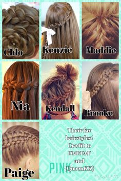 Comment down below which one of their favourite hairstyles you like the best! ALL CREDIT goes to DMFPAP & QueenKK