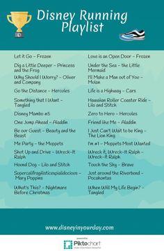 Disney Running Playlist - http://www.popularaz.com/disney-running-playlist/