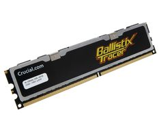 Crucial Ballistix Tracer C2-8000 review | Flashy lights may not be to everyone's taste, but we really like the high-end Tracer RAM from Crucial. Not only does it bathe the motherboard in a cool blue glow, but there are red and green LEDs on the top switch to indicate activity Reviews | TechRadar