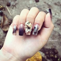 Cute Toe Nails, Sexy Nails, 3d Nails, Love Nails, Acrylic Nail Art, 3d Nail Art, Nail Arts, 3d Nail Designs, Nail Designs Pictures