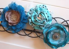 Fabric Flowers - Show & Tell Tutorial