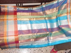 silk by cotton whith jari saree Valance Curtains, Saree, Silk, Cotton, Home Decor, Decoration Home, Room Decor, Sari, Home Interior Design