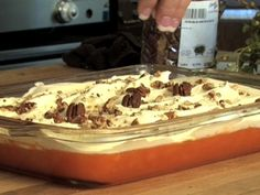 Desserts: Perfect for your Easter meal, this Orange Jello Salad recipe is light and refreshing.