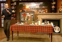 Clinton Kelly's Fall tablescapes and dinner party ideas from The Chew
