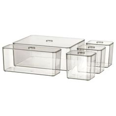 MORE STOCK ARRIVING MID AUG - email us to reserve Helps you organise your jewellery, make-up and bottles. Sizes: 1 box, 24x20x9.5cm, 3.8l 1 box, 22x7.8x9.5cm, 1.2l 3 boxes, 9.9x7.8x9.5 cm, 0.5l Assembled size Care Instructions Wipe clean with a cloth dampened in a mild cleaner. Wipe dry with a clean cloth. FYI Made fr Form Design, Bathroom Drawers, Bathroom Storage, Bathroom Cabinets, Organized Bathroom, Storage Mirror, Ikea Bathroom, Bathroom Plants, Mirror Cabinets