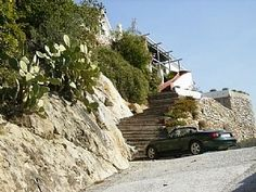 - Romantic mountain top villa with pool.
