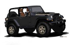 Jeep Wrangler Renegade Concept