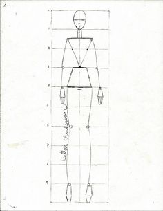 Great fashion sketch tutorial by clothedmuch, via Flickr