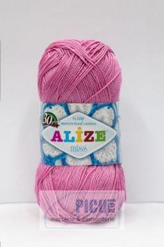 Poze Fir de tricotat sau crosetat - Fir BUMBAC 100% ALIZE MISS ROZ 264 Winter Hats, Fire, Crochet, Products, Coil Out, Ganchillo, Crocheting, Knits, Chrochet