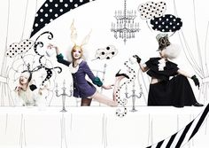 Alice in black wonderland