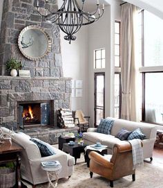 country living living room. - Click image to find more Home Decor Pinterest pins